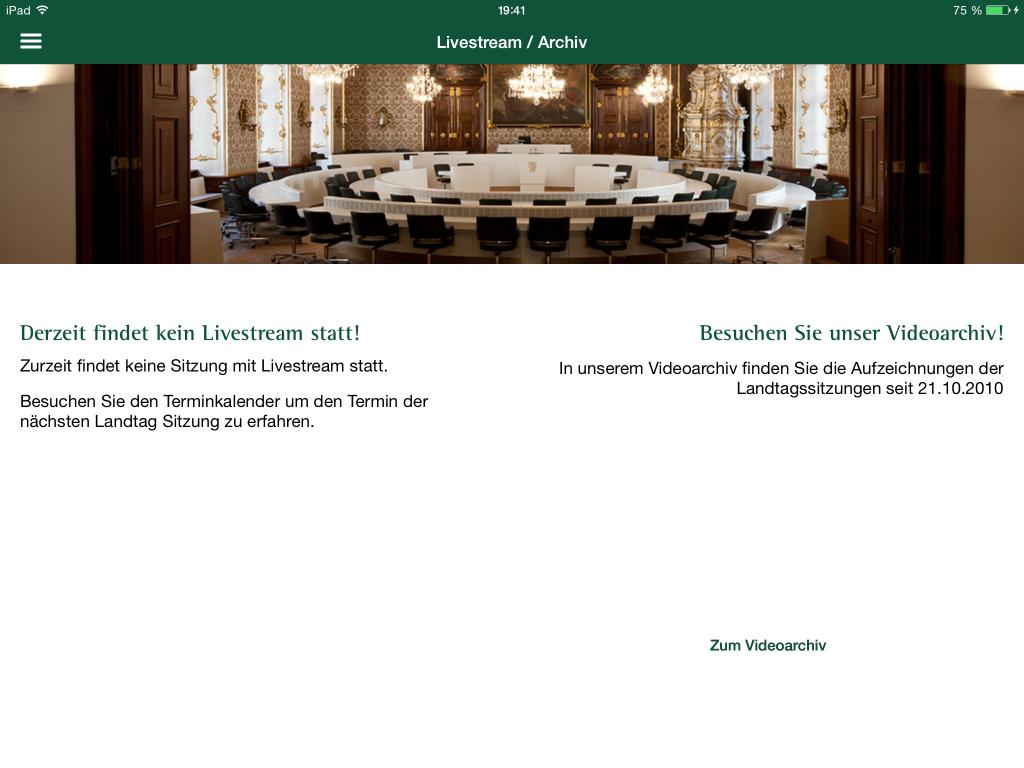 Landtag Steiermark App - Live Stream