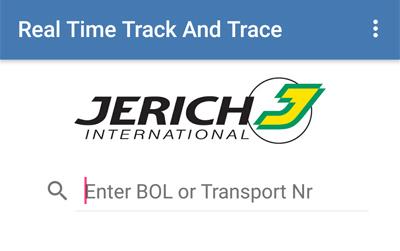 Logistik-App für Jerich International