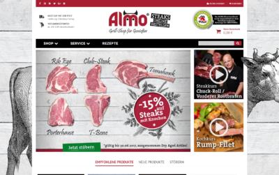 Almo Shop – Grill-Shop für Genießer