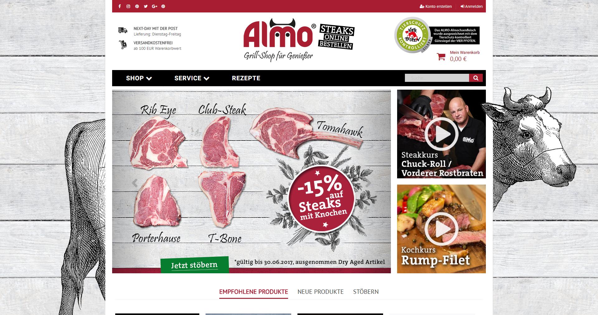 Almo-Shop Home